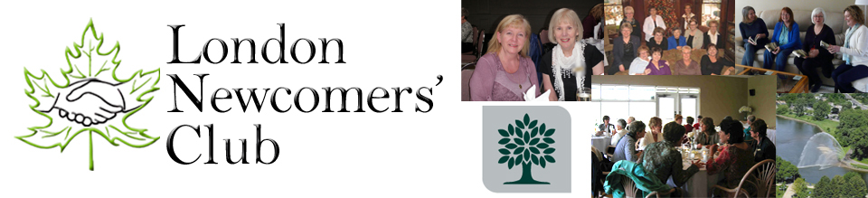 London Newcomers Club, Womens Newcomers Club London Ontario, New to London FYI, information for women new to London ontario